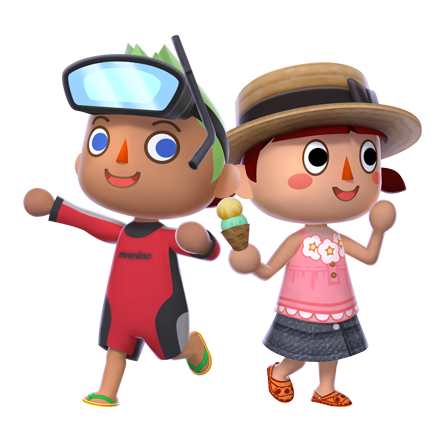 animal crossing new leaf girl boy